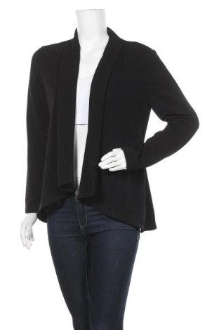 Дамска жилетка Suzy Shier, Размер L, Цвят Черен, 96% полиестер, 4% еластан, Цена 24,10лв.