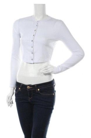 Дамска жилетка Top Fashion, Размер S, Цвят Бял, Цена 8,40лв.
