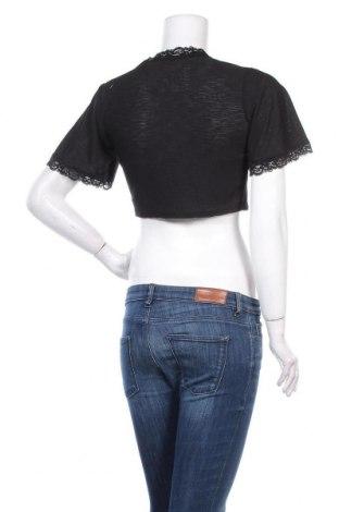 Γυναικεία ζακέτα Top Fashion, Μέγεθος S, Χρώμα Μαύρο, Τιμή 5,26€