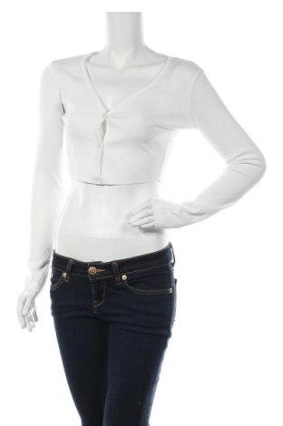 Γυναικεία ζακέτα Top Fashion, Μέγεθος S, Χρώμα Λευκό, Τιμή 5,41€