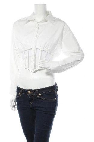 Дамска риза, Размер S, Цвят Бял, Цена 11,88лв.