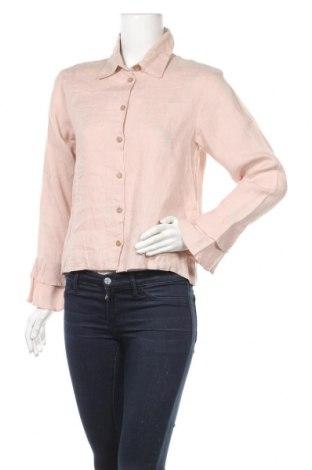 Γυναικείο πουκάμισο Bitte Kai Rand, Μέγεθος M, Χρώμα Ρόζ , Λινό, Τιμή 9,58€