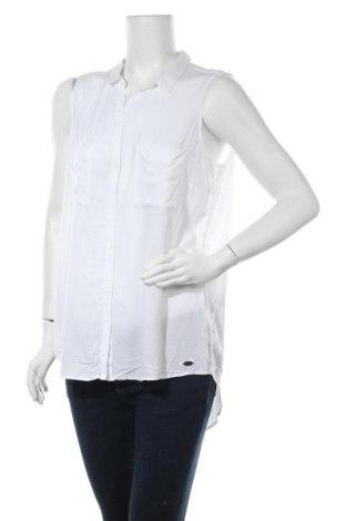 Дамска риза Edc By Esprit, Размер XL, Цвят Бял, Вискоза, Цена 7,56лв.