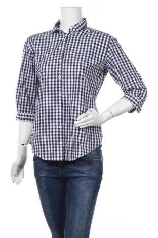 Дамска риза FFC, Размер S, Цвят Син, Памук, Цена 5,55лв.