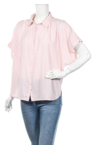 Дамска риза H&M L.O.G.G., Размер L, Цвят Розов, 70% модал, 30% памук, Цена 13,39лв.