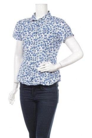 Дамска риза H&M L.O.G.G., Размер M, Цвят Син, Памук, Цена 4,20лв.