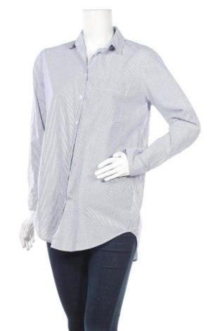 Дамска риза H&M L.O.G.G., Размер S, Цвят Син, Памук, Цена 16,50лв.