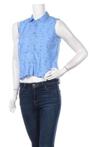 Дамска риза Jack Wills, Размер S, Цвят Син, Памук, Цена 48,97лв.