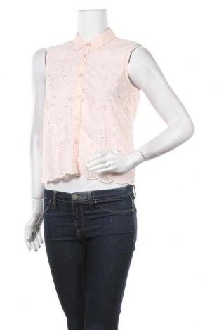 Дамска риза Jack Wills, Размер M, Цвят Розов, Памук, Цена 25,37лв.