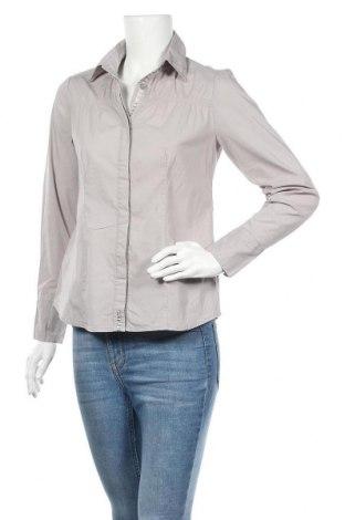 Дамска риза Jessica, Размер S, Цвят Сив, 68% памук, 29% полиамид, 3% еластан, Цена 16,07лв.