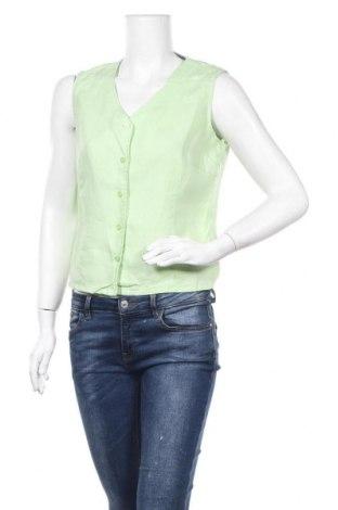 Γυναικείο πουκάμισο Joy, Μέγεθος M, Χρώμα Πράσινο, Λινό, Τιμή 3,86€