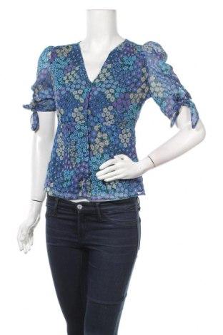 Дамска риза Mango, Размер XS, Цвят Многоцветен, Полиестер, Цена 44,10лв.