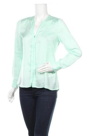 Дамска риза Mexx, Размер S, Цвят Зелен, Полиестер, Цена 11,04лв.