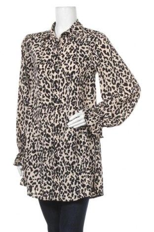 Γυναικείο πουκάμισο Missguided, Μέγεθος S, Χρώμα  Μπέζ, Πολυεστέρας, Τιμή 6,80€