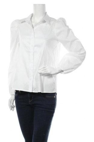 Дамска риза Missguided, Размер S, Цвят Бял, Памук, Цена 31,50лв.
