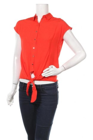 Дамска риза Mohito, Размер XS, Цвят Червен, Вискоза, Цена 39,60лв.