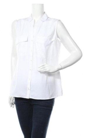 Дамска риза Mohito, Размер M, Цвят Бял, Полиестер, Цена 23,40лв.