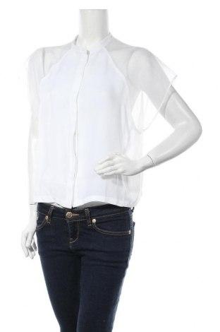 Дамска риза Mohito, Размер L, Цвят Бял, Полиестер, Цена 39,60лв.