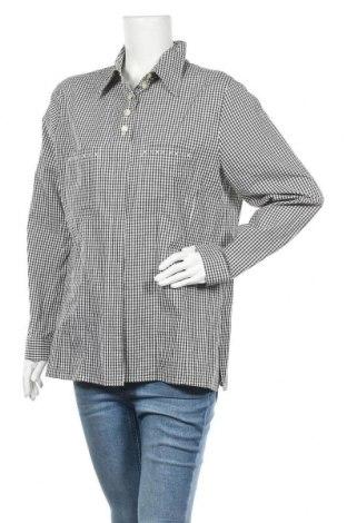 Дамска риза Peter Hahn, Размер XL, Цвят Черен, Памук, Цена 20,16лв.