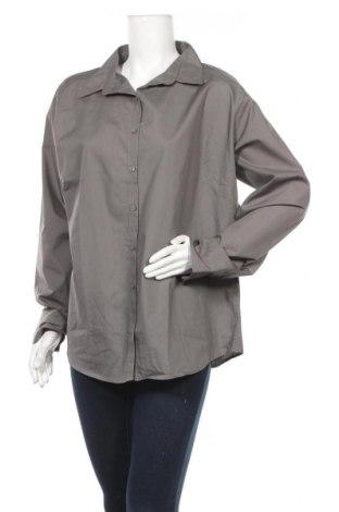 Γυναικείο πουκάμισο Premier, Μέγεθος XXL, Χρώμα Γκρί, 65% πολυεστέρας, 35% βαμβάκι, Τιμή 4,09€