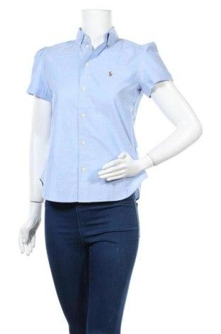 Дамска риза Ralph Lauren, Размер S, Цвят Син, Памук, Цена 101,15лв.