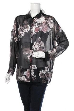 Γυναικείο πουκάμισο Soya Concept, Μέγεθος M, Χρώμα Μαύρο, Πολυεστέρας, Τιμή 3,86€