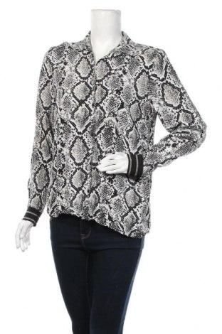 Γυναικείο πουκάμισο Soya Concept, Μέγεθος L, Χρώμα Μαύρο, Βισκόζη, Τιμή 14,94€