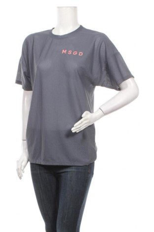 Дамска тениска Missguided, Размер S, Цвят Син, 85% полиестер, 15% еластан, Цена 10,40лв.