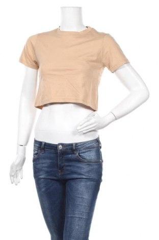 Дамска тениска, Размер S, Цвят Кафяв, Цена 10,40лв.