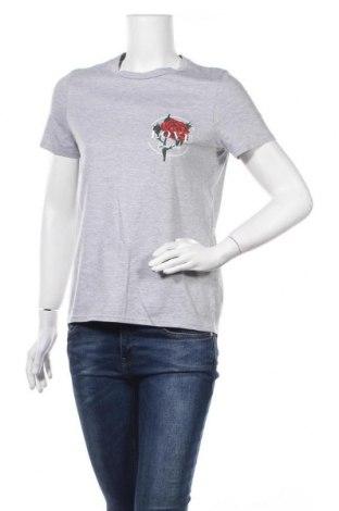 Дамска тениска, Размер S, Цвят Сив, Цена 19,92лв.