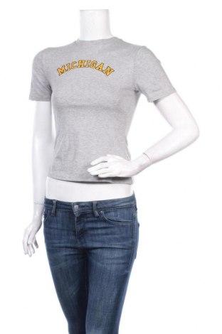 Дамска тениска, Размер XS, Цвят Сив, Цена 20,80лв.