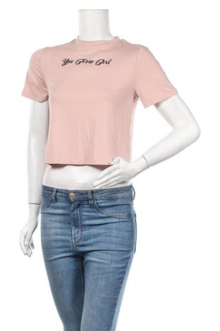 Дамска тениска, Размер S, Цвят Розов, Цена 8,58лв.