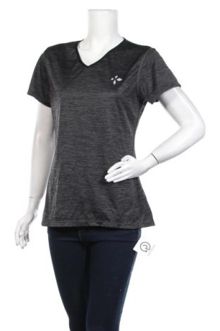 Дамска тениска, Размер L, Цвят Сив, Полиестер, Цена 12,97лв.