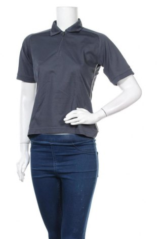 Дамска тениска Adidas, Размер M, Цвят Сив, Полиестер, Цена 19,85лв.