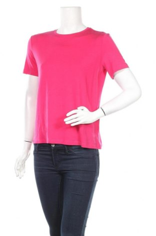 Дамска тениска Aware by Vero Moda, Размер S, Цвят Розов, 95% лиосел, 5% еластан, Цена 11,02лв.