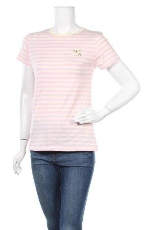 Дамска тениска Brave Soul, Размер S, Цвят Лилав, Памук, Цена 22,41лв.