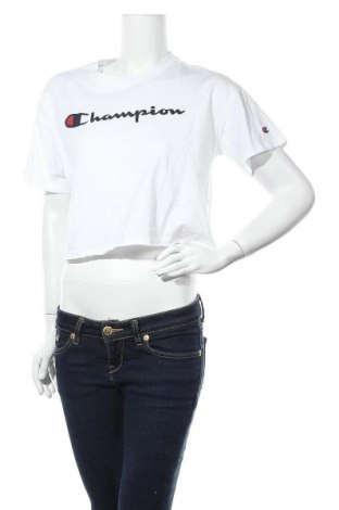 Дамска тениска Champion, Размер M, Цвят Бял, Памук, Цена 20,95лв.