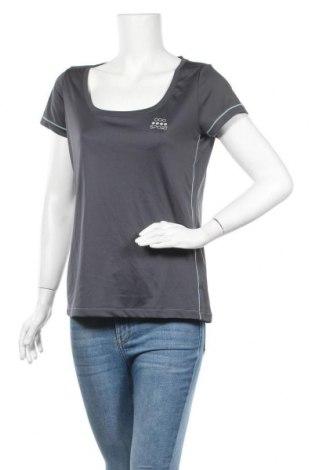 Дамска тениска Crivit, Размер M, Цвят Сив, Полиестер, Цена 14,18лв.