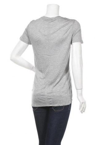 Дамска тениска Desigual, Размер L, Цвят Сив, Вискоза, Цена 25,90лв.
