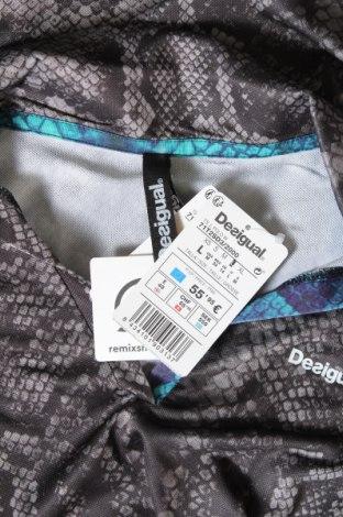 Дамска тениска Desigual, Размер L, Цвят Многоцветен, 97% полиестер, 3% еластан, Цена 30,40лв.