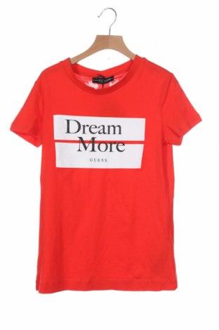 Дамска тениска Guess, Размер XS, Цвят Червен, Памук, Цена 46,56лв.