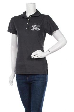 Дамска тениска Hakro, Размер M, Цвят Сив, Полиестер, Цена 16,07лв.
