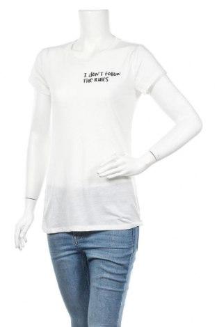 Γυναικείο t-shirt House, Μέγεθος M, Χρώμα Λευκό, Τιμή 5,77€