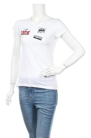 Γυναικείο t-shirt House, Μέγεθος XS, Χρώμα Λευκό, Τιμή 4,95€