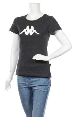 Γυναικείο t-shirt Kappa, Μέγεθος M, Χρώμα Γκρί, 60% βαμβάκι, 40% πολυεστέρας, Τιμή 16,37€