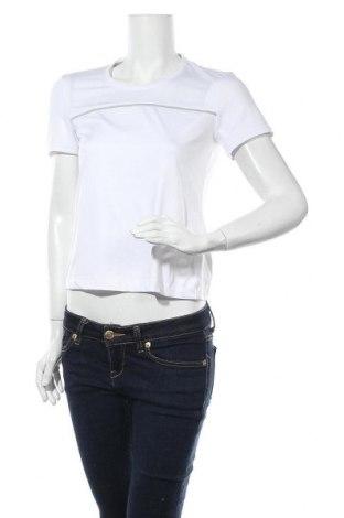 Дамска тениска Limited Sports, Размер S, Цвят Бял, 91% полиестер, 9% еластан, Цена 12,48лв.