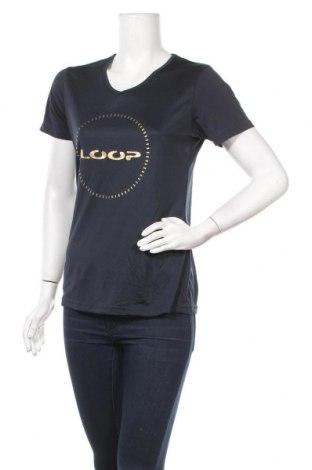 Дамска тениска Loop, Размер M, Цвят Син, Цена 8,98лв.