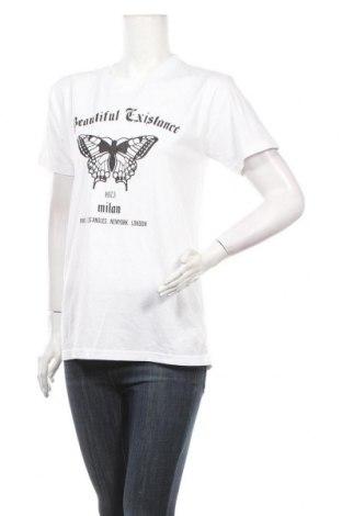 Дамска тениска Missguided, Размер S, Цвят Бял, Памук, Цена 21,58лв.