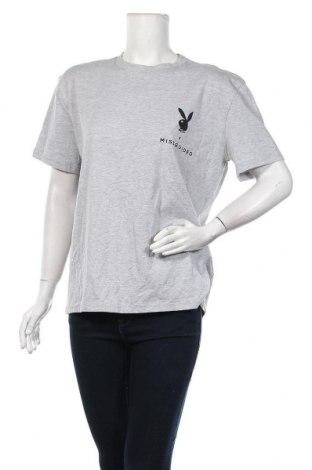 Дамска тениска Missguided, Размер M, Цвят Сив, Цена 19,50лв.