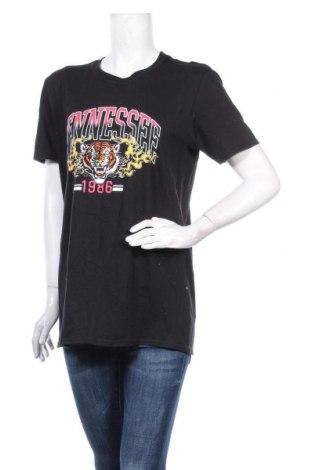 Дамска тениска Missguided, Размер S, Цвят Черен, Памук, Цена 21,58лв.